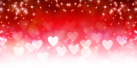 バレンタインの心光背景