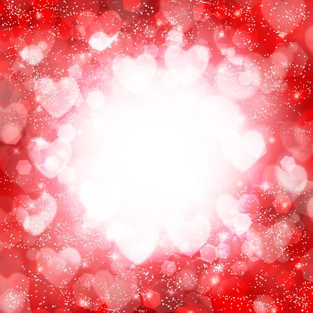Valentine Heart hellen Hintergrund