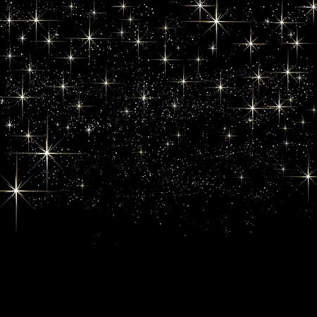 Notte cielo luce brillante sfondo