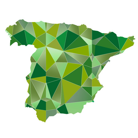 country: Spain Map country icon