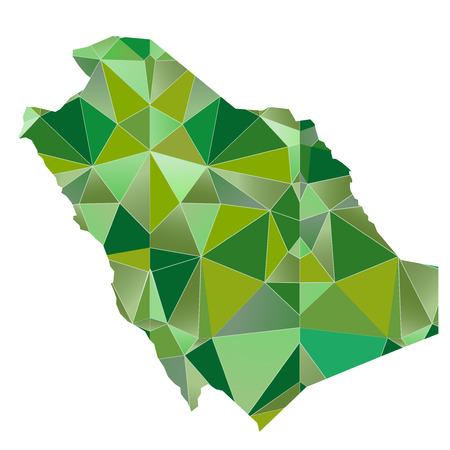 Saudi Arabia Map country icon