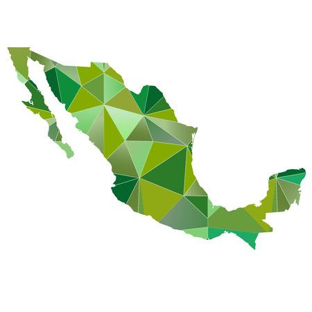 メキシコ地図国アイコン