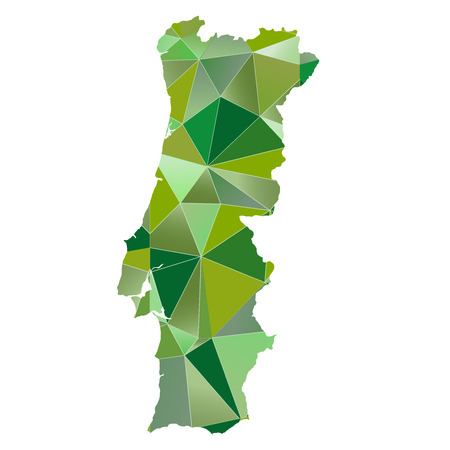 portugal: Portugal map country icon