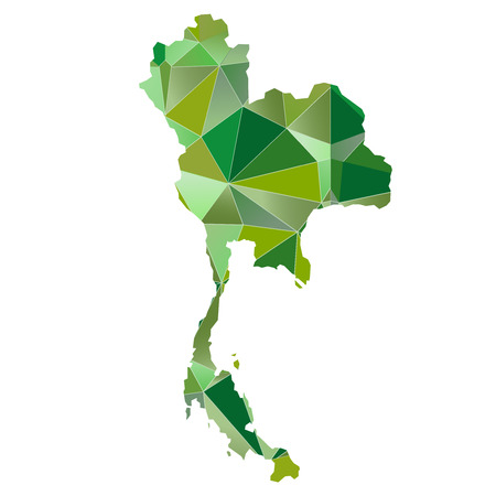country: Thailand map country icon