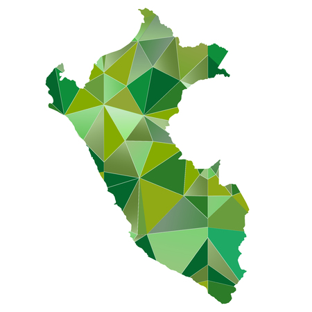 mapa del peru: Per� icono de mapa del pa�s