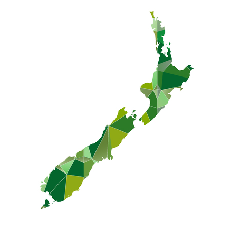 zealand: new zealand map country icon