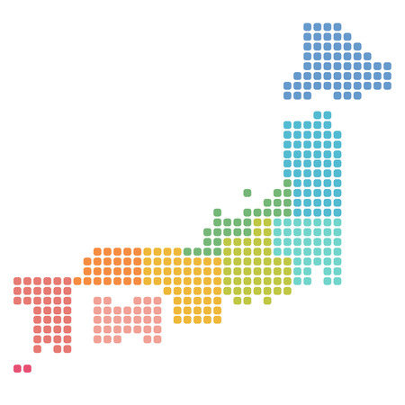 일본지도 기호 아이콘