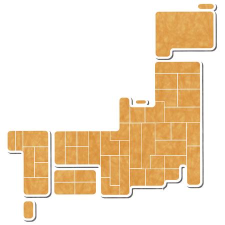 shikoku: Japan map symbol icon