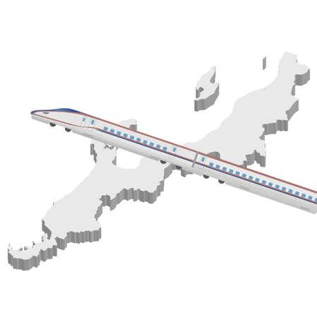 shinkansen: Shinkansen Hokuriku map icon