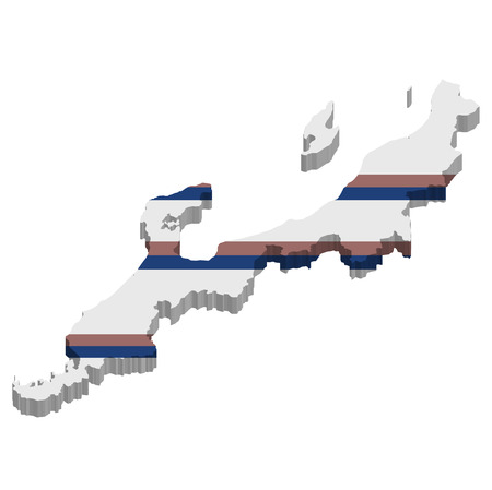 hokuriku: Hokuriku map icon white