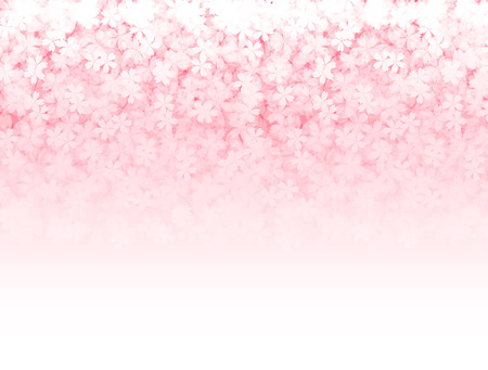 Cherry spring flower background Ilustrace