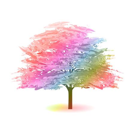 spring flower: Cherry spring flower icon