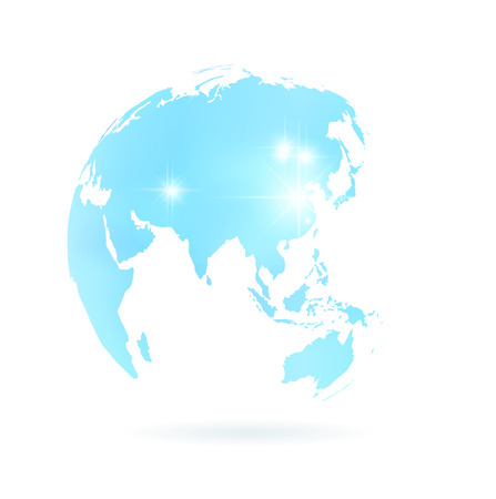 지구 세계 일본 아이콘