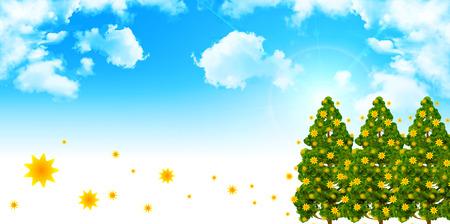 pollen: Pollen cedar tree background