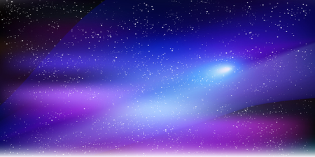 Space sky star background