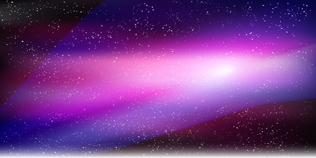 galaxies: Space sky star background
