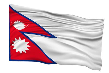 ネパールの旗国のアイコン  イラスト・ベクター素材