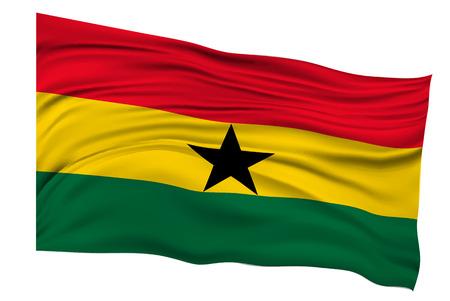 ghana: Ghana Flags Country icon Illustration