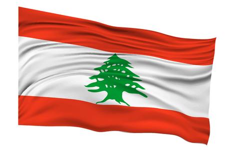 lebanon: Lebanon Flags Country icon Illustration