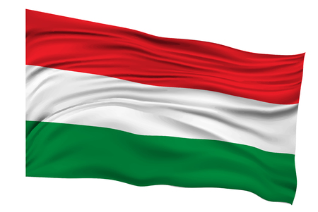 hungary: Hungary Flags Country icon Illustration