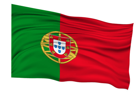 Portugal Flags Country icon Illusztráció