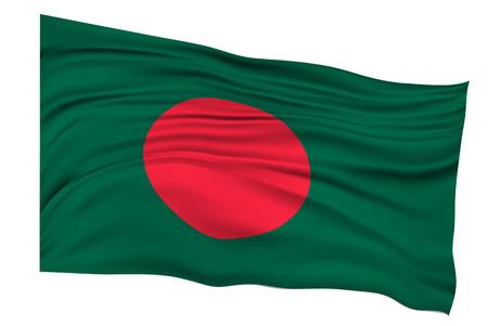 national flag bangladesh: Bangladesh Flag Country icon Illustration