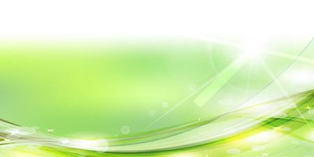 green background: Fresh green green landscape background