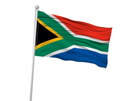 南アフリカ共和国の国旗の旗のアイコン