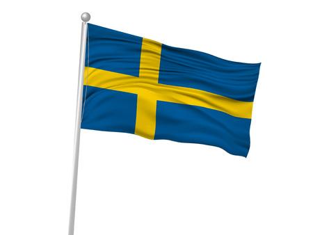 スウェーデン国旗の旗のアイコン