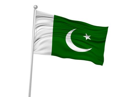 banderas del mundo: Pakistán icono de la bandera de la bandera nacional