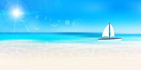 playas tropicales: Mar de fondo del paisaje del verano