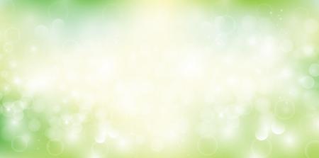 Fondo del paisaje de luz verde fresca