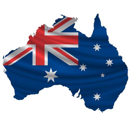 Australia Flag map icon