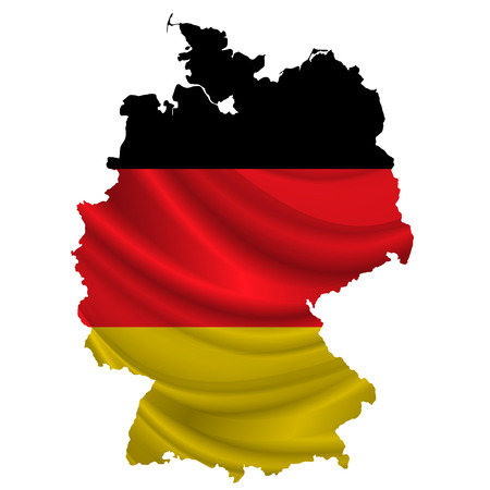 germany flag: Germany Flag map icon