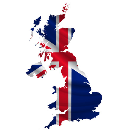 United Kingdom Flag map icon