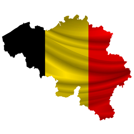 belgium: Belgium Flag map icon