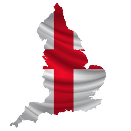 England Flag map icon
