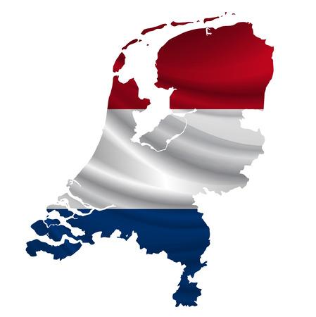 netherlands flag: Netherlands Flag map icon
