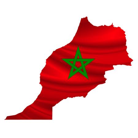 morocco: Morocco Flag map icon