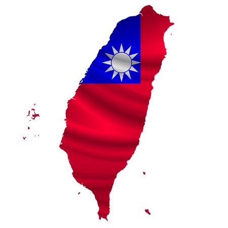 Taiwan Flag map icon