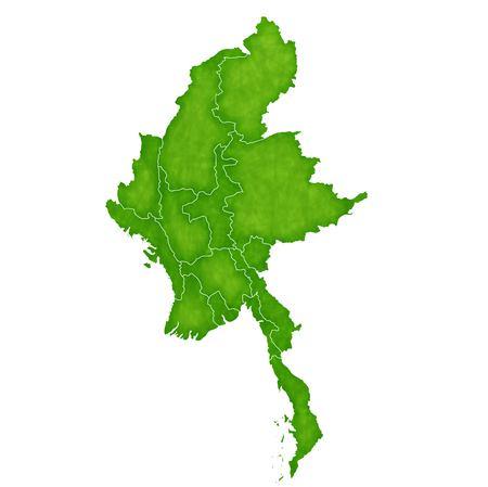 myanmar: Myanmar map country icon