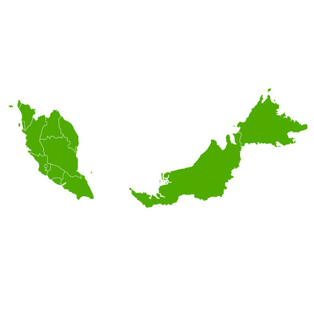 country: Malaysia map country icon