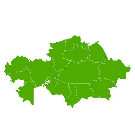 Kazakhstan map country icon
