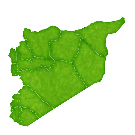 Syria: Syria map Country icon Illustration