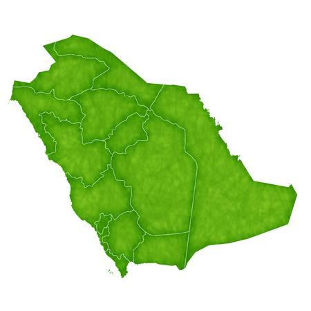 saudi arabia: Saudi Arabia map Country icon Illustration