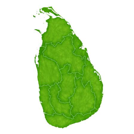 スリランカ地図国のアイコン