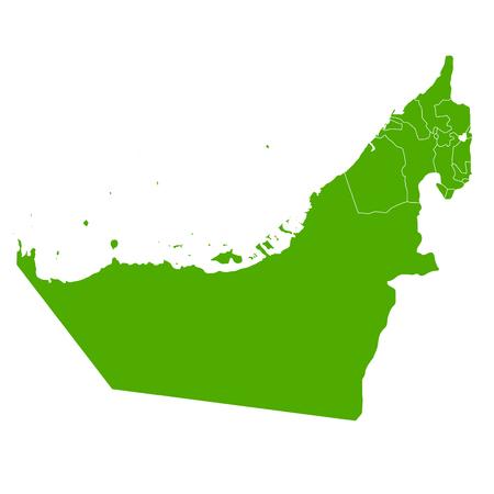 emirates: United Arab Emirates map Country icon