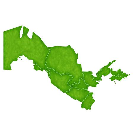 country: Uzbekistan map country icon