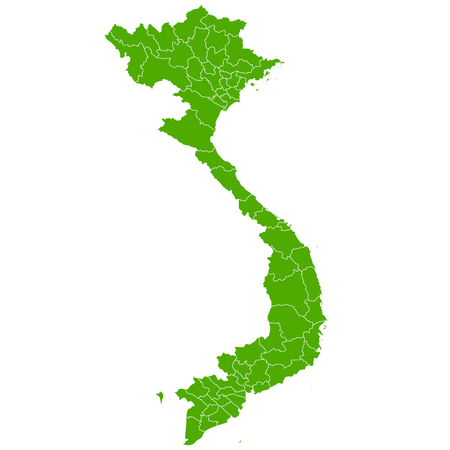 Vietnam map Country icon
