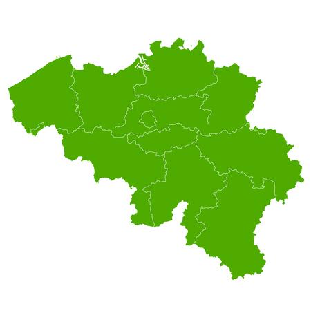 Belgium map Country icon